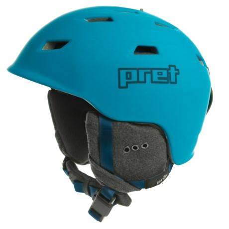 968b551d7d Pret Shaman Ski Helmet in Signature Blue