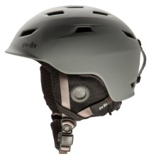 Pret Shaman Snowsport Helmet in Rubber Smoked Grey - Closeouts
