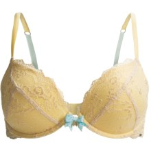 Pretty Polly Take the Plunge Bra - Underwire, Push-Up (For Women) in Sundrop - Closeouts