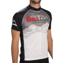 Primal Wear Coors Light Summit Cycling Jersey - Short Sleeve (For Men) in Coors Light Summit - Closeouts