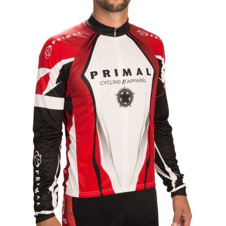 Primal Wear Cru Jersey Zip Neck, Long Sleeve (For Men)