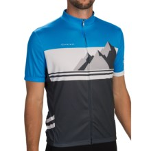 Primal Wear Delta Cycling Jersey - Short Sleeve (For Men) in Blue/Grey - Closeouts