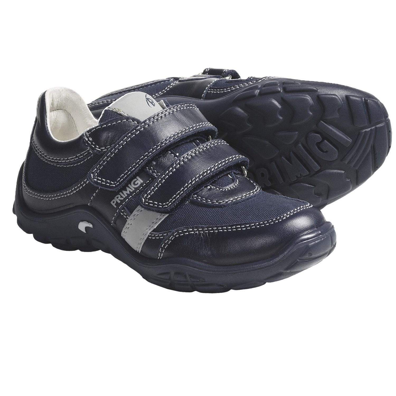primigi bork shoes leather canvas for boys