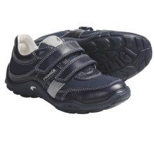 Primigi Bork Shoes - Leather-Canvas (For Little Boys) in Blue - Closeouts