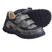 Primigi Charan Shoes - Leather-Mesh (For Toddler Boys) in Blue - Closeouts