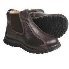 Primigi Edgar Boots - Leather (For Little Boys) in Brown - Closeouts