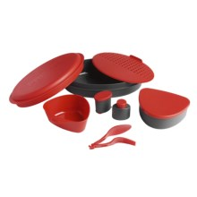 Primus 8-Piece Meal Set in Red - Closeouts