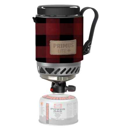 Primus ETA Lite+ All-in-One Gas Stove in Red Plaid - Closeouts