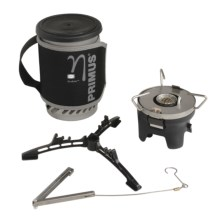 Primus Eta Solo Stove - 0.9L Pot in See Photo - Closeouts
