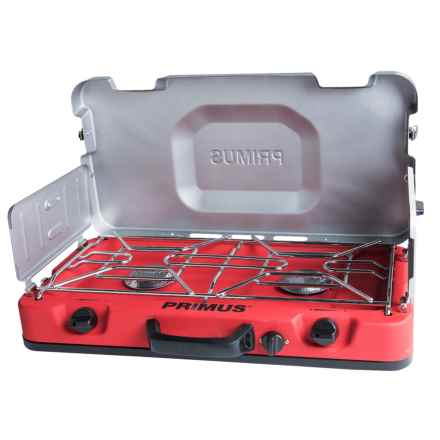 Primus Firehole 100 2-Burner Stove in Red - Closeouts