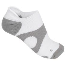 Prince Protect Socks - Below the Ankle (For Women) in White/Grey - Closeouts