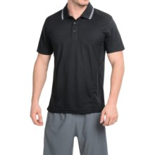 Prince Solid Polo Shirt - Short Sleeve (For Men) in Black - Closeouts