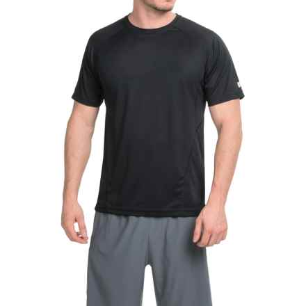 Prince Solid T-Shirt - Crew Neck, Short Sleeve (For Men) in Black - Closeouts