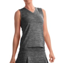 Prince Spaced-Dye Shirt - Sleeveless (For Women) in Grey Heather - Overstock