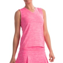 Prince Spaced-Dye Shirt - Sleeveless (For Women) in Hot Pink Heather - Overstock