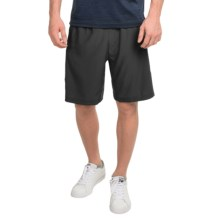 "Prince Stretch Woven 9"" Shorts (For Men) in Black - Closeouts"