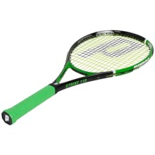 Prince Thunder Strike 110 Strung Tennis Racquet in Black/Green - Closeouts