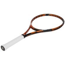 Prince Tour 100T ESP Unstrung Tennis Racquet in Black/Orange - Closeouts