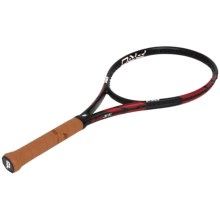 Prince Warrior Pro 100 Unstrung Tennis Racquet in Black/Orange - Closeouts