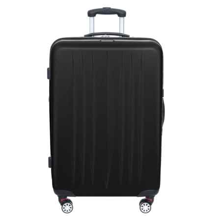 "Princess Traveller 28"" Dallas Checked Spinner Suitcase in Black - Closeouts"