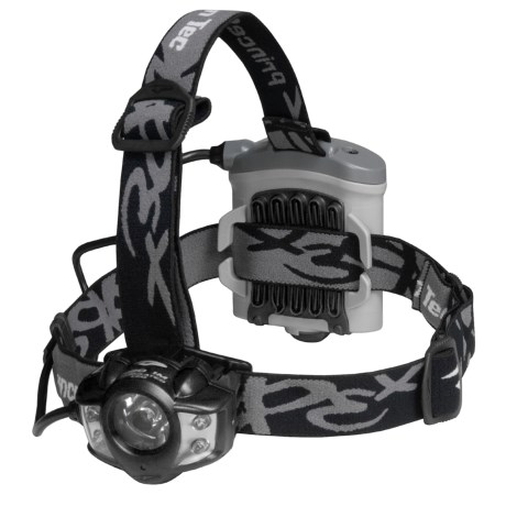 Princeton Tec Apex Headlamp in Black