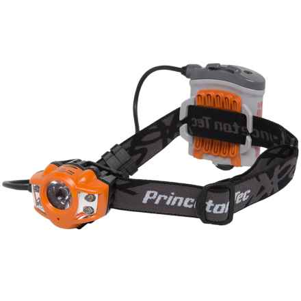 Princeton Tec Apex LED Headlamp - 200 Lumens in Orange - Closeouts