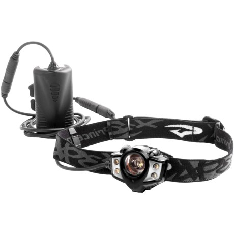 Princeton Tec Apex LED Headlamp - Rechargeable 200 Lumen in Black