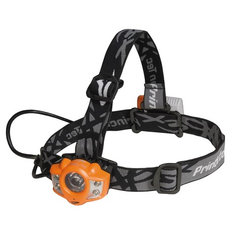 Princeton Tec Apex Pro Headlamp in Orange