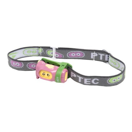 Princeton Tec Bot Headlamp - 15 Lumens (For Kids) in Pink