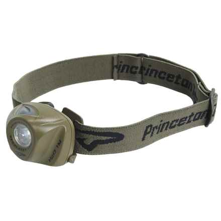 Princeton Tec EOS LED Headlamp - 70 Lumens in Olive Drab - Closeouts