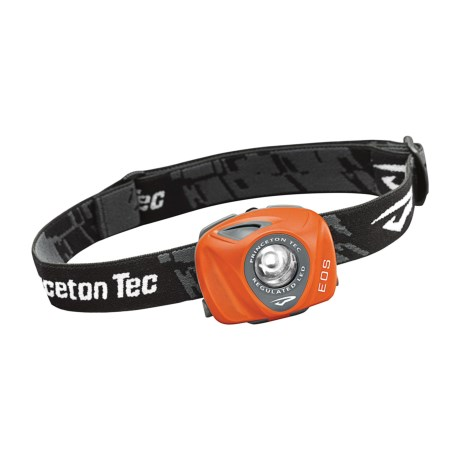 Princeton Tec EOS LED Headlamp - 70 Lumens in Orange
