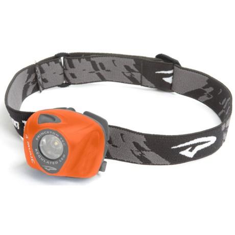 Princeton Tec EOS LED Headlamp in Orange/Grey