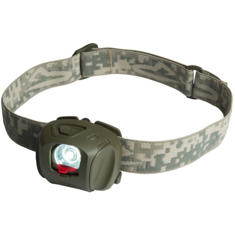 Princeton Tec EOS Tactical Headlamp in Olive Drab