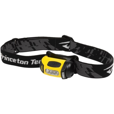 Princeton Tec Fred LED Headlamp - 45 Lumens in Black/Yellow