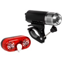 Princeton Tec Push and Swerve Bike Light Combo in Red/Silver - Closeouts