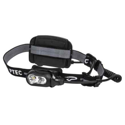 Princeton Tec Remix Plus Headlamp - 165 lumens in Black - Closeouts