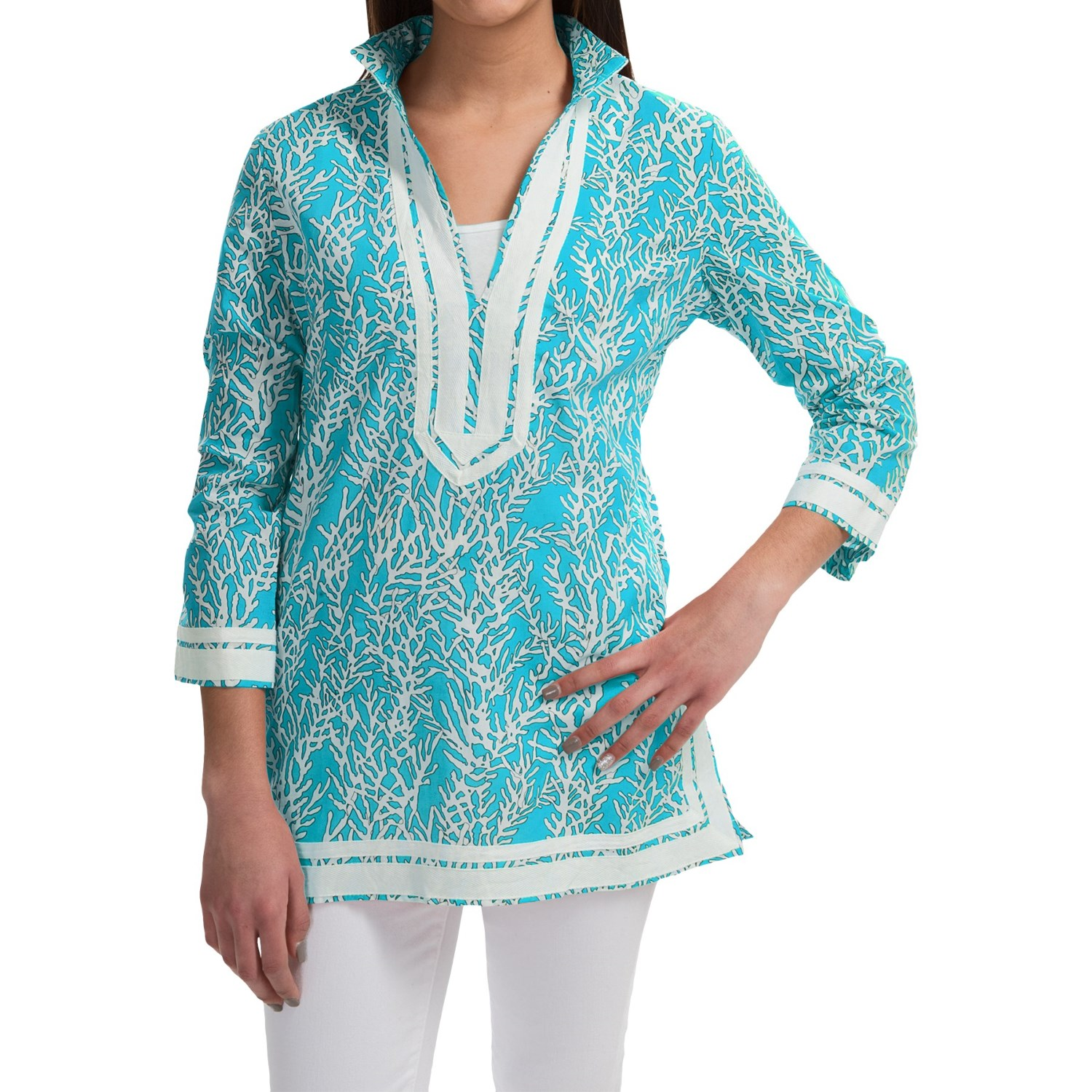 Shop womens cotton tunic at Neiman Marcus, where you will find free shipping on the latest in fashion from top designers.