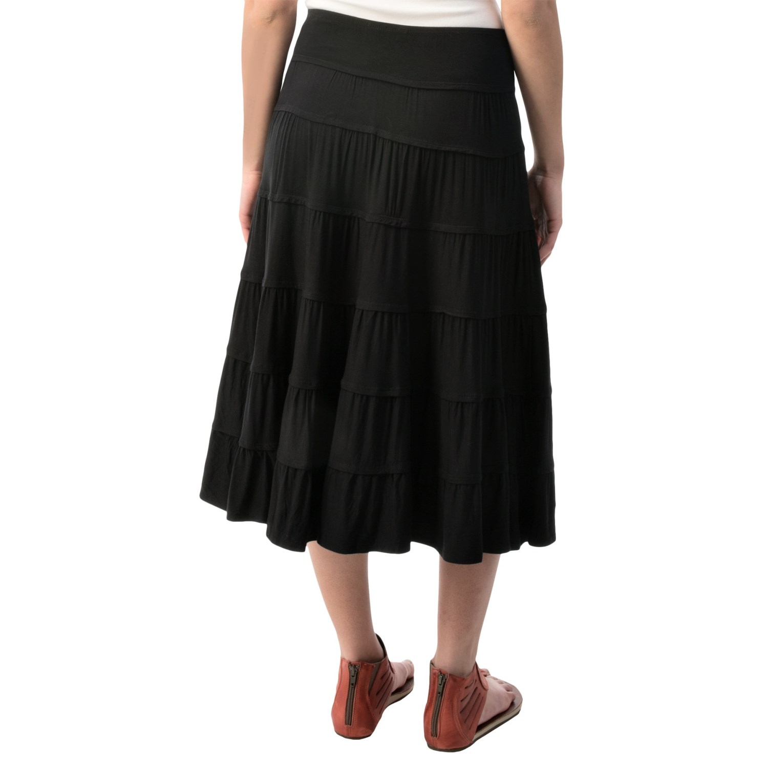 print tiered skirt for 134rr save 73