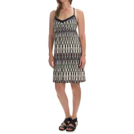 Printed Halter Dress - Sleeveless (For Women) in Cool Combo - 2nds