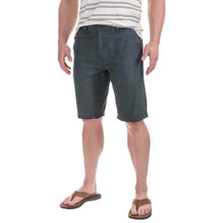 Printed Shorts (For Men) in Blue Steel Glen - 2nds