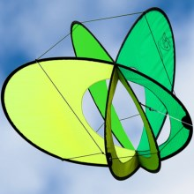 Prism Kite Technology EO Atom Kite - Single Line in Citrus - Closeouts