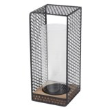 Privilege Wood and Iron Lantern - Large