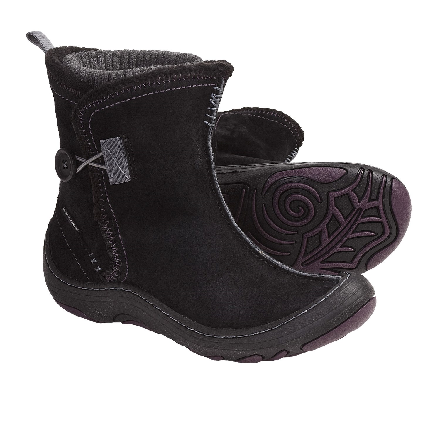 Privo by Clarks Hayseed Ankle Boots - Waterproof Suede (For Women) in