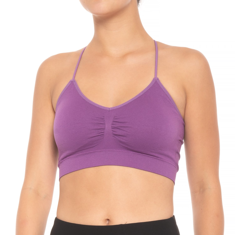 2434b137b1e61 Pro-Fit Circle Back Sports Bra - Medium Impact (For Women)