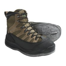 Pro Line Fox River Wading Boots - Felt Sole (For Men and Women) in Black/Grey/Tan - Closeouts