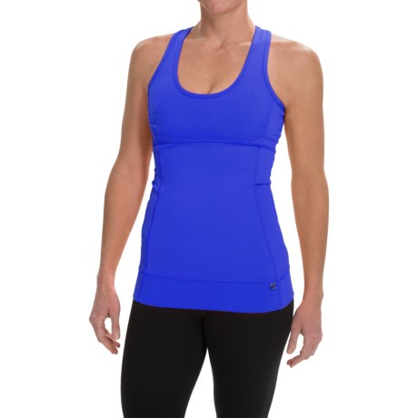 Pro Series Key to My Heart Support Tank Top - Built-In Sports Bra, Racerback (For Women)