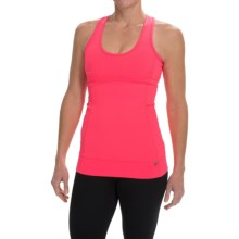 Pro Series Key to My Heart Support Tank Top - Built-In Sports Bra, Racerback (For Women) in Electric Shock - Closeouts