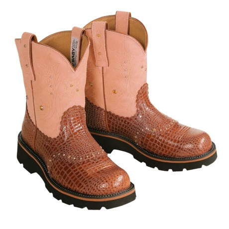 Fatbaby boots - Review of Ariat Gem Baby Boots (For Women) by ...