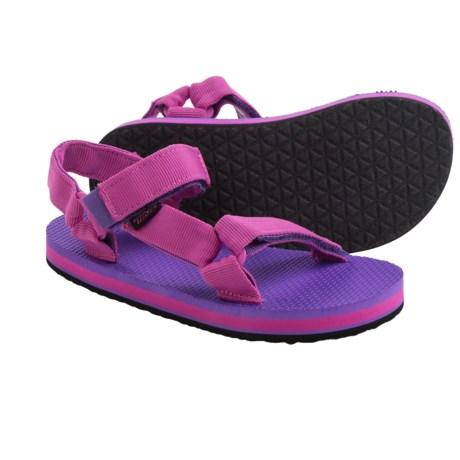 Teva Original Universal Sandals (For Little Girls)