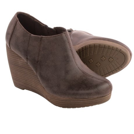 Dr. Scholl's Harlie Shoes - Vegan Leather, Wedge Heel (For Women)